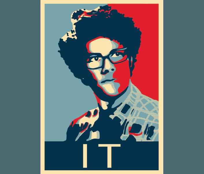 Maurice Moss 'IT' Parody Digital Art by Brian Ayotte
